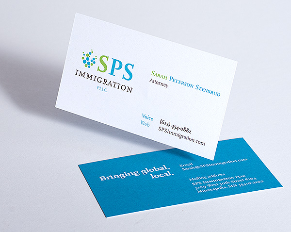 SPS Business Card Design