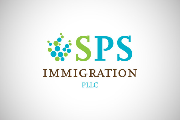 SPS Immigration logo design